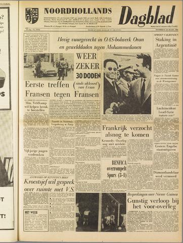 Noordhollands Dagblad : dagblad voor Alkmaar en omgeving 1962-03-22