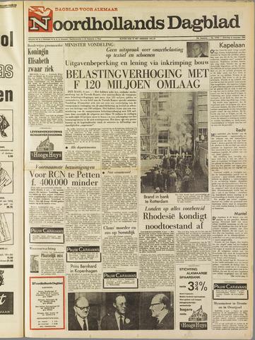 Noordhollands Dagblad : dagblad voor Alkmaar en omgeving 1965-11-06