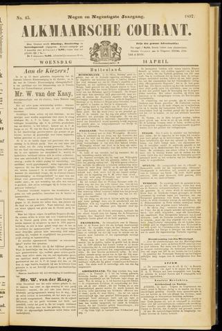 Alkmaarsche Courant 1897-04-14