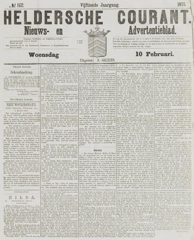 Heldersche Courant 1875-02-10