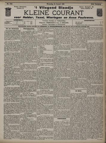 Vliegend blaadje : nieuws- en advertentiebode voor Den Helder 1909-01-20