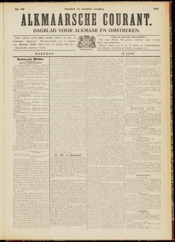Alkmaarsche Courant 1910-06-27