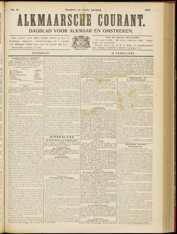 Alkmaarsche Courant 1908-02-18