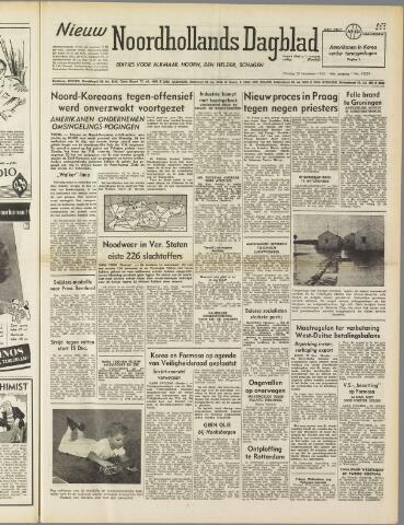 Nieuw Noordhollandsch Dagblad : voor Alkmaar en omgeving 1950-11-28