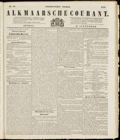 Alkmaarsche Courant 1876-09-24
