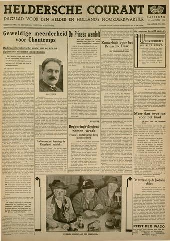 Heldersche Courant 1938-01-22