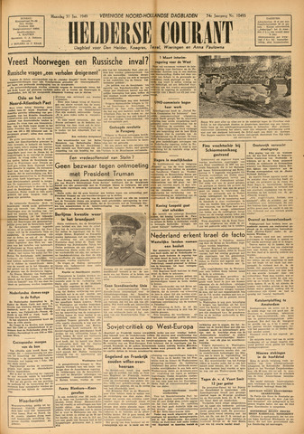 Heldersche Courant 1949-01-31