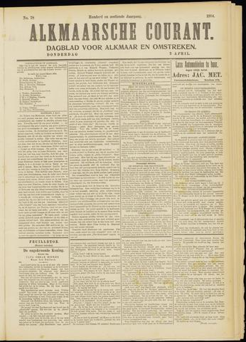 Alkmaarsche Courant 1914-04-02