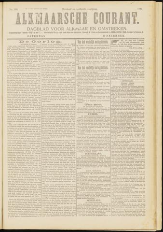Alkmaarsche Courant 1914-12-19
