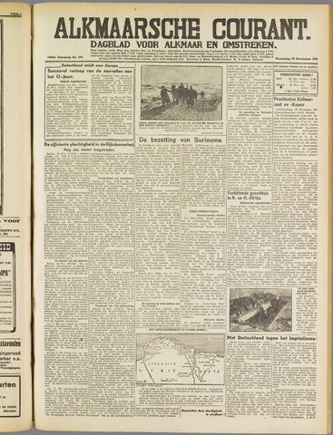 Alkmaarsche Courant 1941-11-26