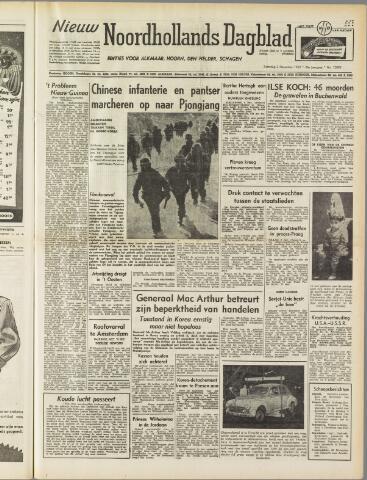 Nieuw Noordhollandsch Dagblad : voor Alkmaar en omgeving 1950-12-02