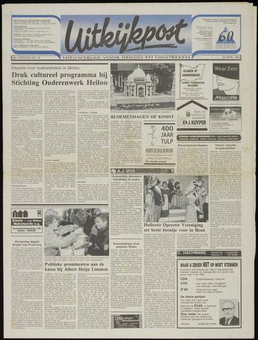 Uitkijkpost : nieuwsblad voor Heiloo e.o. 1994-04-20