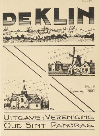 De Klin 2003-01-01