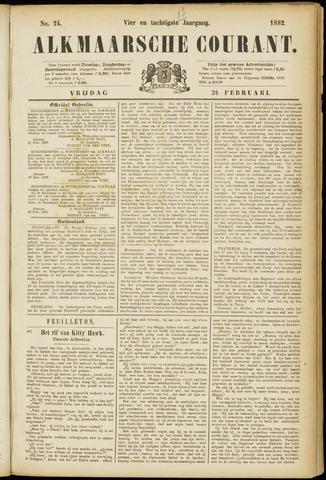 Alkmaarsche Courant 1882-02-24