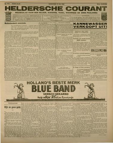 Heldersche Courant 1932-07-14