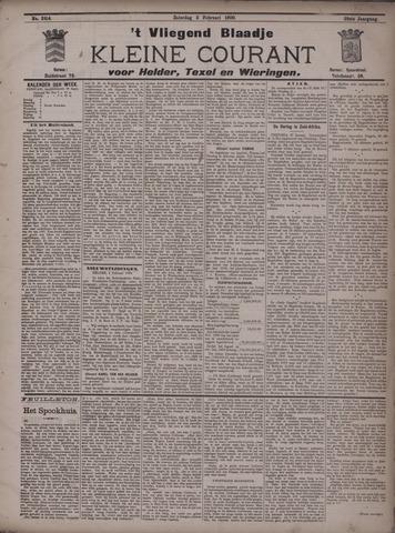 Vliegend blaadje : nieuws- en advertentiebode voor Den Helder 1900-02-03