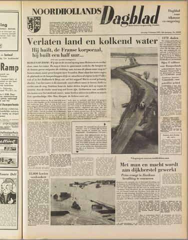 Noordhollands Dagblad : dagblad voor Alkmaar en omgeving 1953-02-07