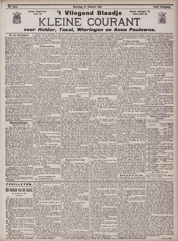 Vliegend blaadje : nieuws- en advertentiebode voor Den Helder 1906-01-27