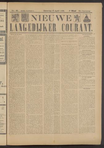 Nieuwe Langedijker Courant 1922-04-08