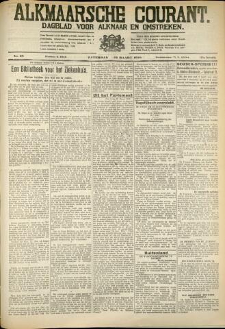 Alkmaarsche Courant 1930-03-22