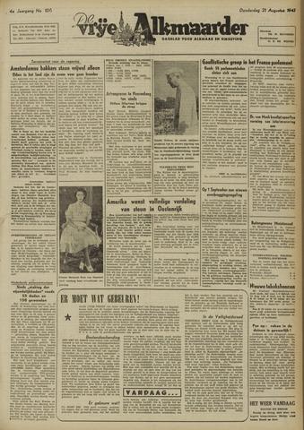 De Vrije Alkmaarder 1947-08-21