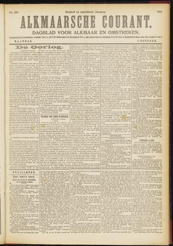Alkmaarsche Courant 1917-10-08