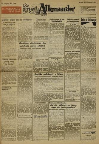 De Vrije Alkmaarder 1947-11-21