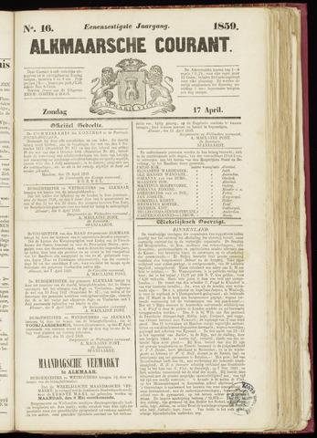 Alkmaarsche Courant 1859-04-17