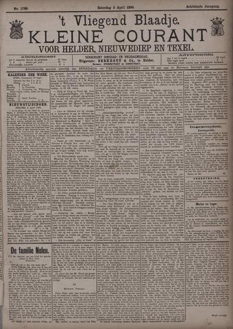 Vliegend blaadje : nieuws- en advertentiebode voor Den Helder 1890-04-05