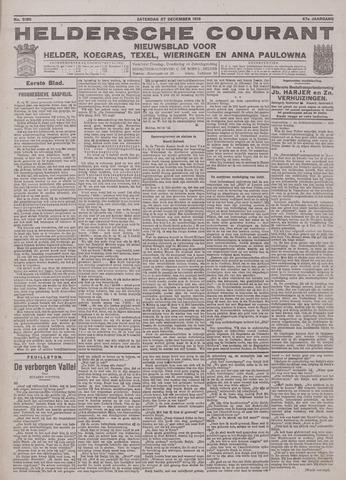 Heldersche Courant 1919-12-27