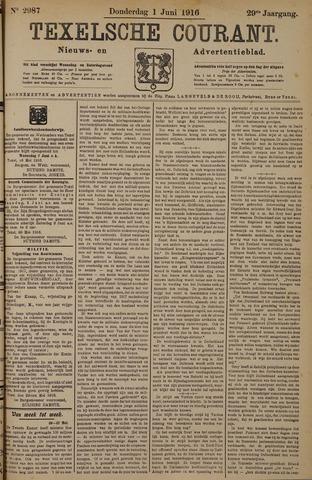 Texelsche Courant 1916-06-01
