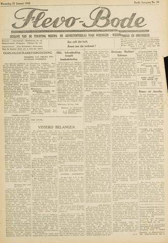 Flevo-bode: nieuwsblad voor Wieringen-Wieringermeer 1948-01-28