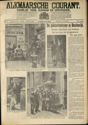 Alkmaarsche Courant 1934-07-27