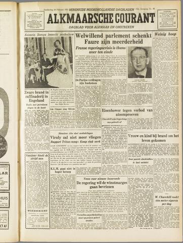 Alkmaarsche Courant 1955-02-24