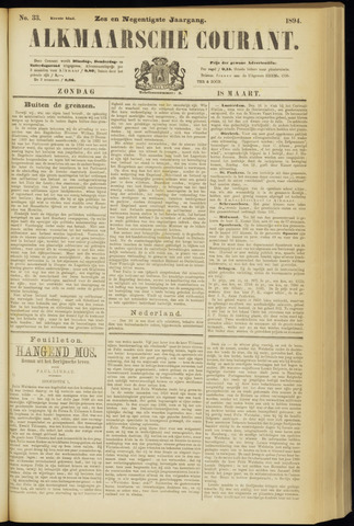 Alkmaarsche Courant 1894-03-18