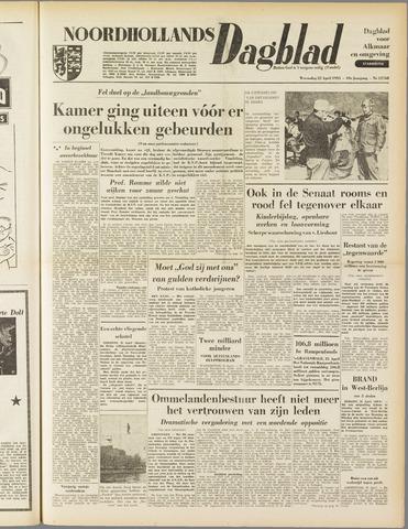 Noordhollands Dagblad : dagblad voor Alkmaar en omgeving 1953-04-22