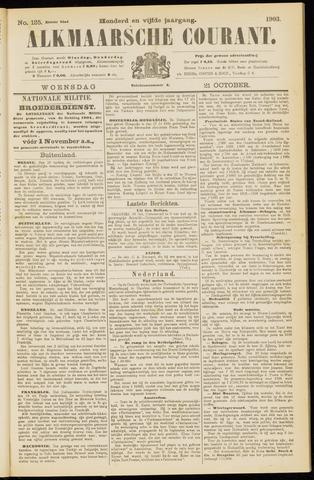 Alkmaarsche Courant 1903-10-21