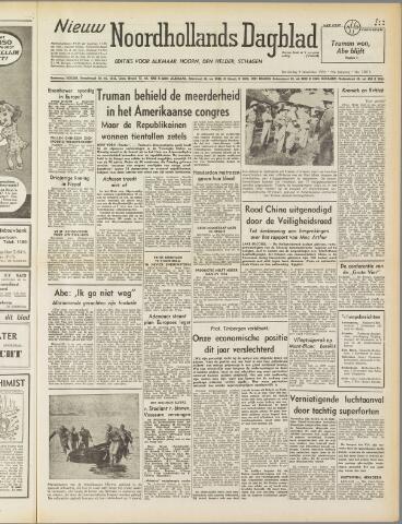 Nieuw Noordhollandsch Dagblad : voor Alkmaar en omgeving 1950-11-09