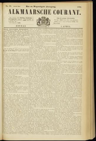 Alkmaarsche Courant 1894-04-01