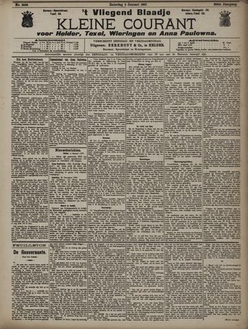 Vliegend blaadje : nieuws- en advertentiebode voor Den Helder 1907-01-05
