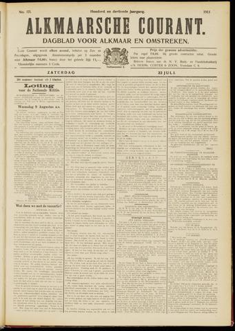 Alkmaarsche Courant 1911-07-22