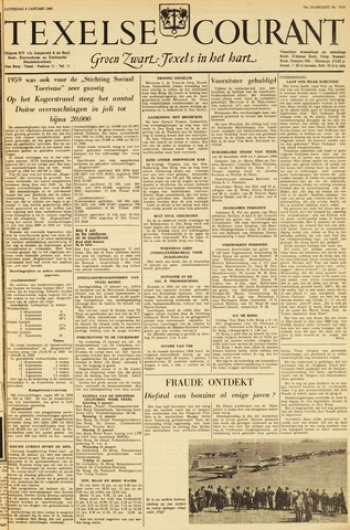 Texelsche Courant 1960-01-09