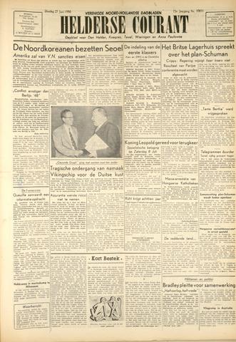 Heldersche Courant 1950-06-27