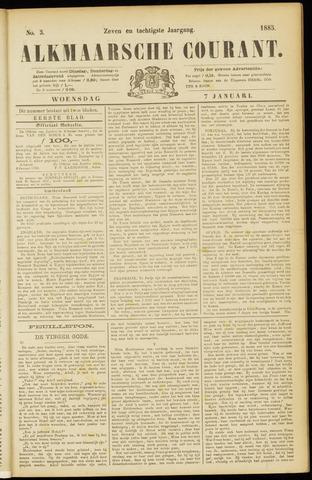 Alkmaarsche Courant 1885-01-07