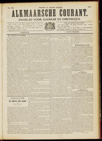 Alkmaarsche Courant 1907-11-01