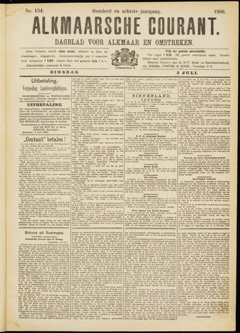 Alkmaarsche Courant 1906-07-03
