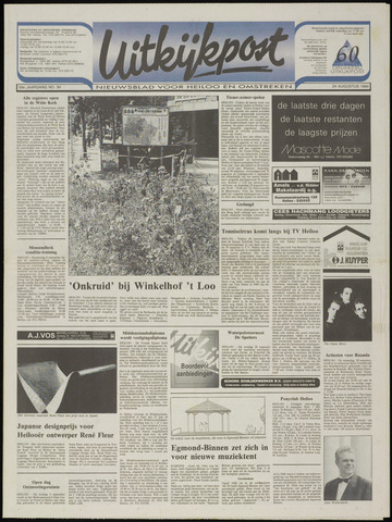 Uitkijkpost : nieuwsblad voor Heiloo e.o. 1994-08-24