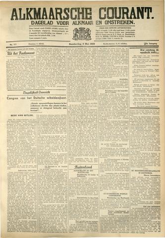 Alkmaarsche Courant 1933-05-11