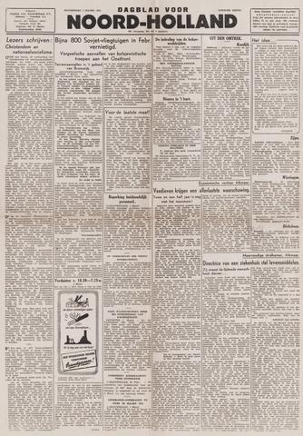 Dagblad Noord-Holland, Schager editie 1944-03-02