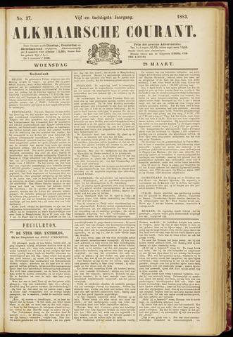 Alkmaarsche Courant 1883-03-28